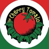 This is the restaurant logo for The Cherry Tomato Restaurant