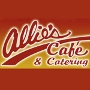 Restaurant logo for Allie's Cafe & Catering