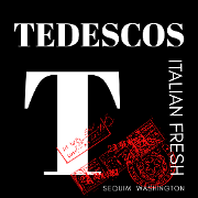 This is the restaurant logo for Tedescos Italian Fresh