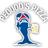 This is the restaurant logo for Pequod's Pizza