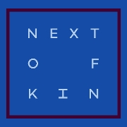 This is the restaurant logo for Next of Kin