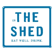 This is the restaurant logo for The Shed Restaurant - Huntington, NY