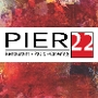 Restaurant logo for PIER 22