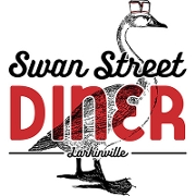 This is the restaurant logo for Swan Street Diner