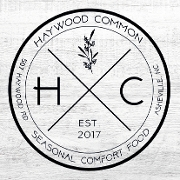 This is the restaurant logo for Haywood Common