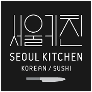 This is the restaurant logo for Seoul Kitchen