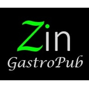 This is the restaurant logo for Zin GastroPub