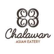 This is the restaurant logo for Chalawan Asian Eatery