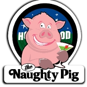 This is the restaurant logo for The Naughty Pig - WH