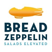 This is the restaurant logo for Bread Zeppelin Salads