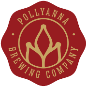 This is the restaurant logo for Pollyanna Brewing Company
