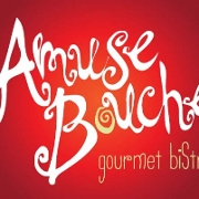 This is the restaurant logo for Amuse Bouche