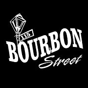 This is the restaurant logo for 115 Bourbon Street