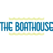 This is the restaurant logo for The Boathouse