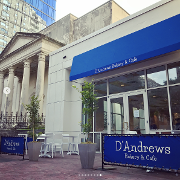This is the restaurant logo for D'Andrews Bakery & Cafe