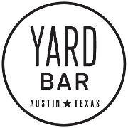 This is the restaurant logo for Yard Bar