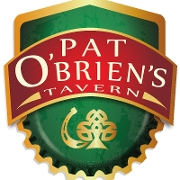 This is the restaurant logo for Pat O'Brien's
