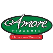 This is the restaurant logo for Amore Pizzeria Ristorante