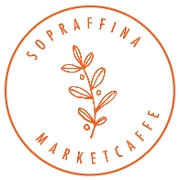 This is the restaurant logo for Sopraffina Marketcaffe