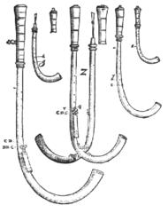 Crumhorns by Michael Praetorius