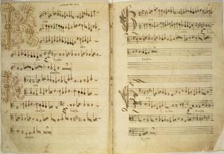 Mensural Manuscript of Missa de Beata Virgine