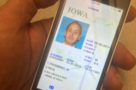 Iowa Announces New Digital Driver's License
