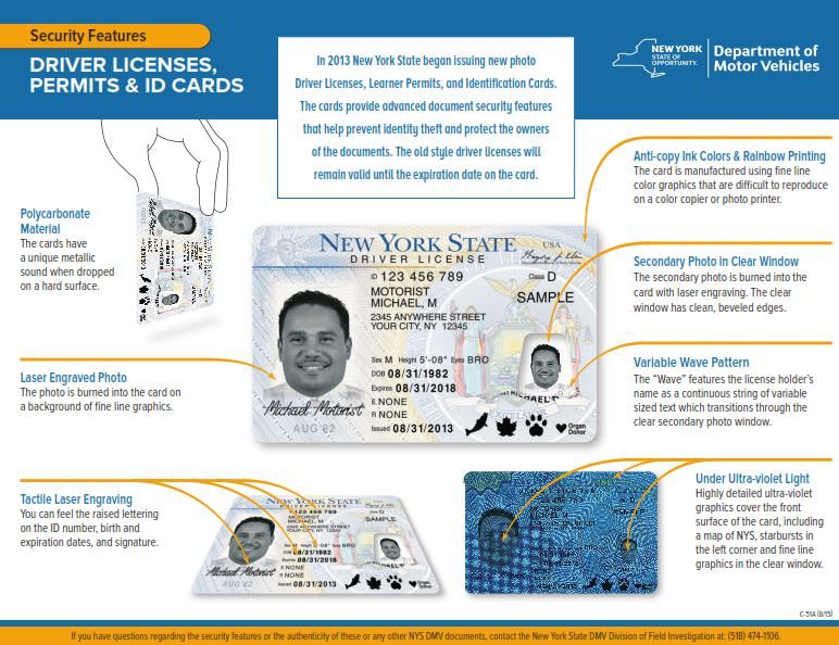 replace stolen drivers license ny