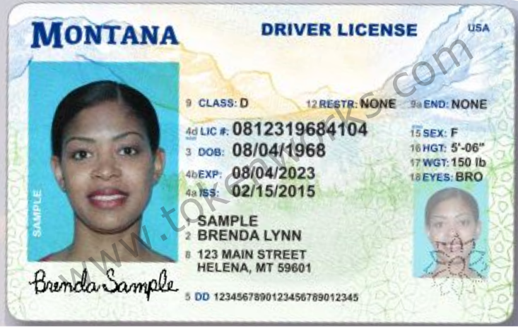 Updated Security Features on Montana's Fresh Driver License Design