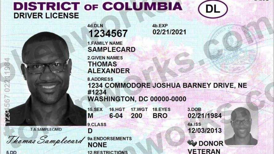Washington DC Driver's License Name Change