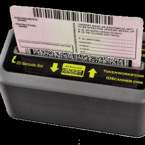 IDWedgeKB Tokenworks Keyboard ID Scanner
