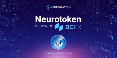 Neuromation's NeuroToken (NTK) Secures Listing on the BCEXExchange