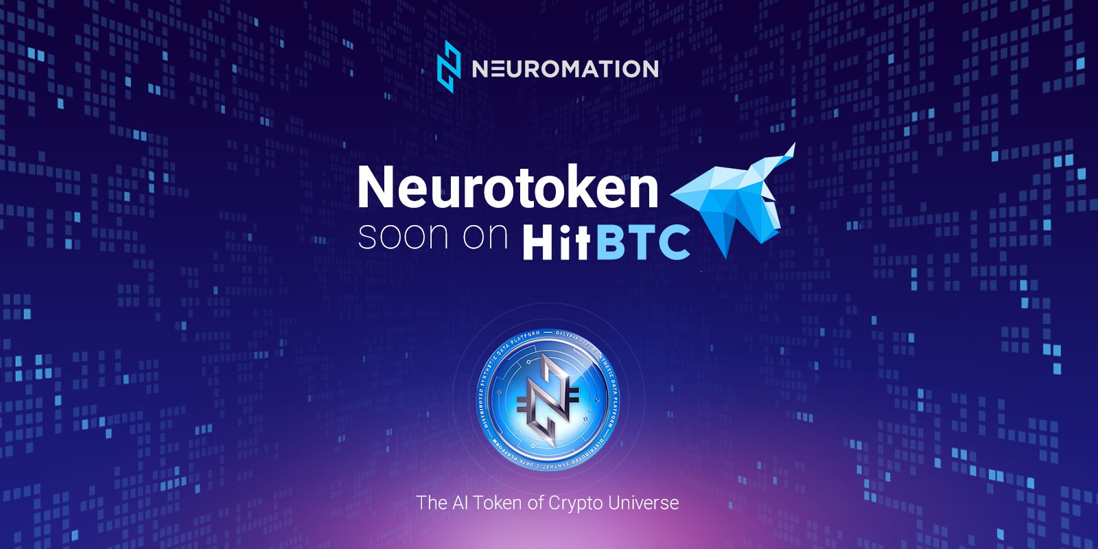 Neuromation's Neurotoken (NTK) secures listing on HitBTC exchange