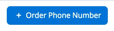 Order Phone Number