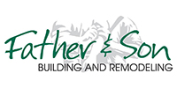 Website for Father and Son Building and Remodeling.