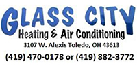 Website for Glass City Heating & Cooling