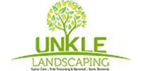 Website for Unkle Landscaping, LLC
