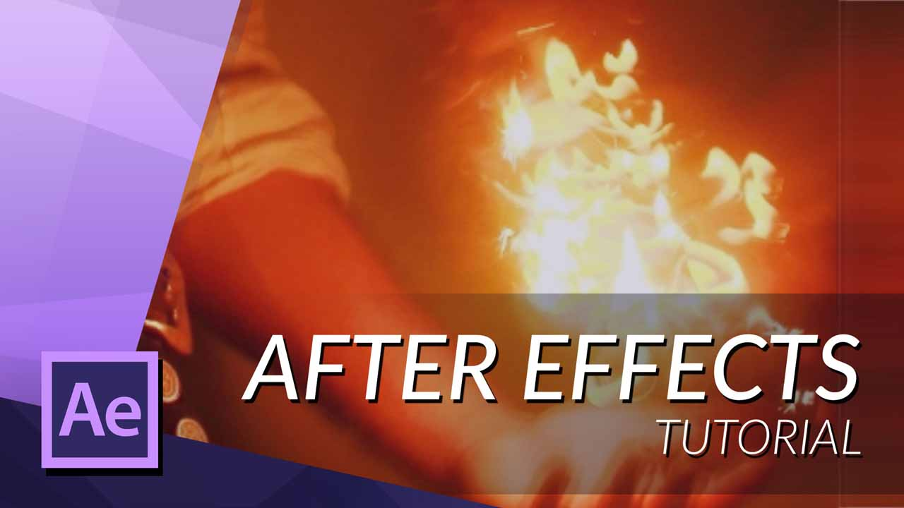 How To Create Fire With Particular In After Effects