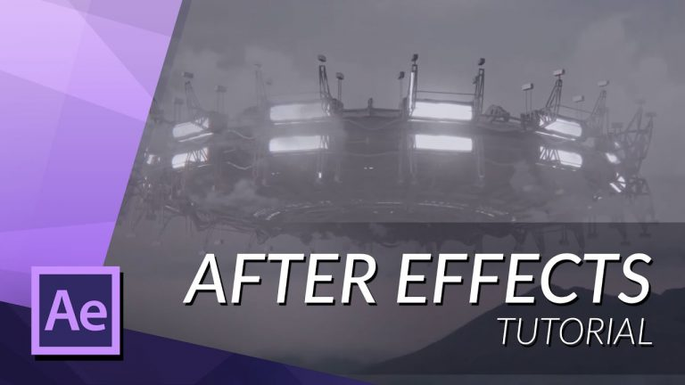 How To Add A UFO To Your Footage In After Effects