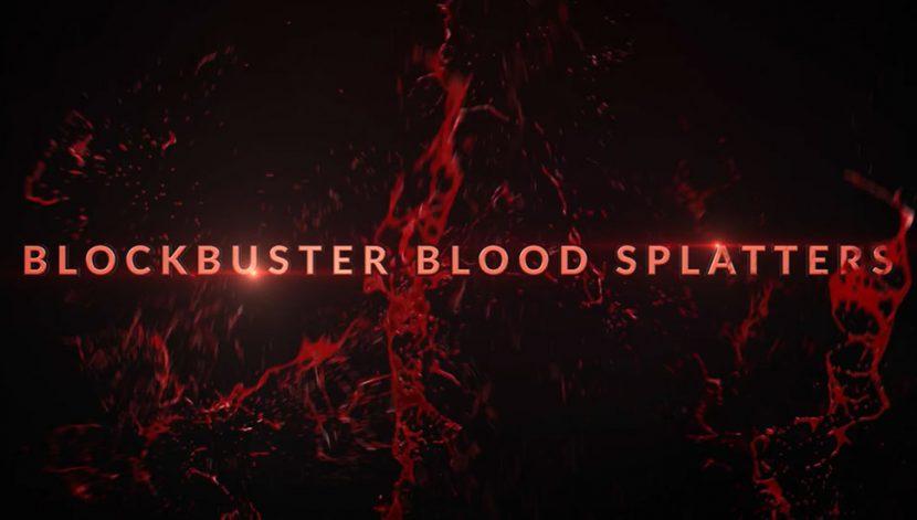 Pack - Blockbuster Blood - 30 Pre-made blood splatters