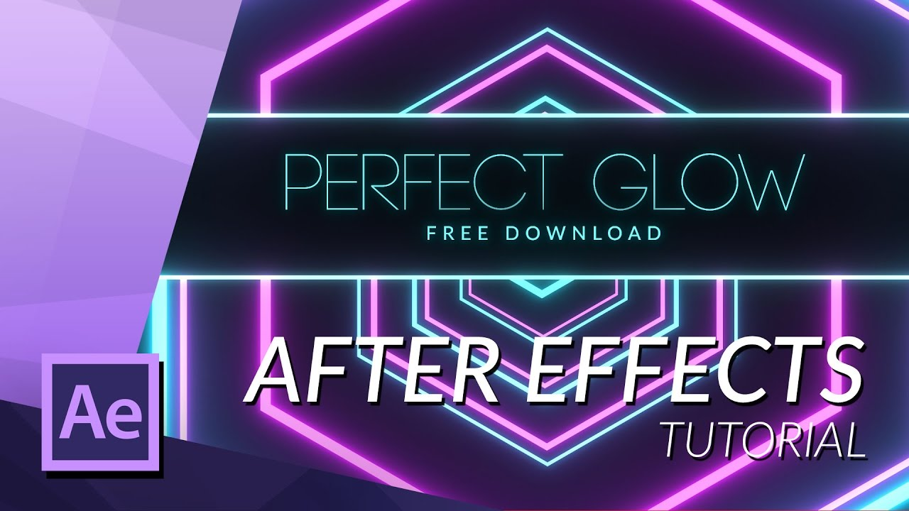 Freebies - Perfect Glow Preset for After Effects