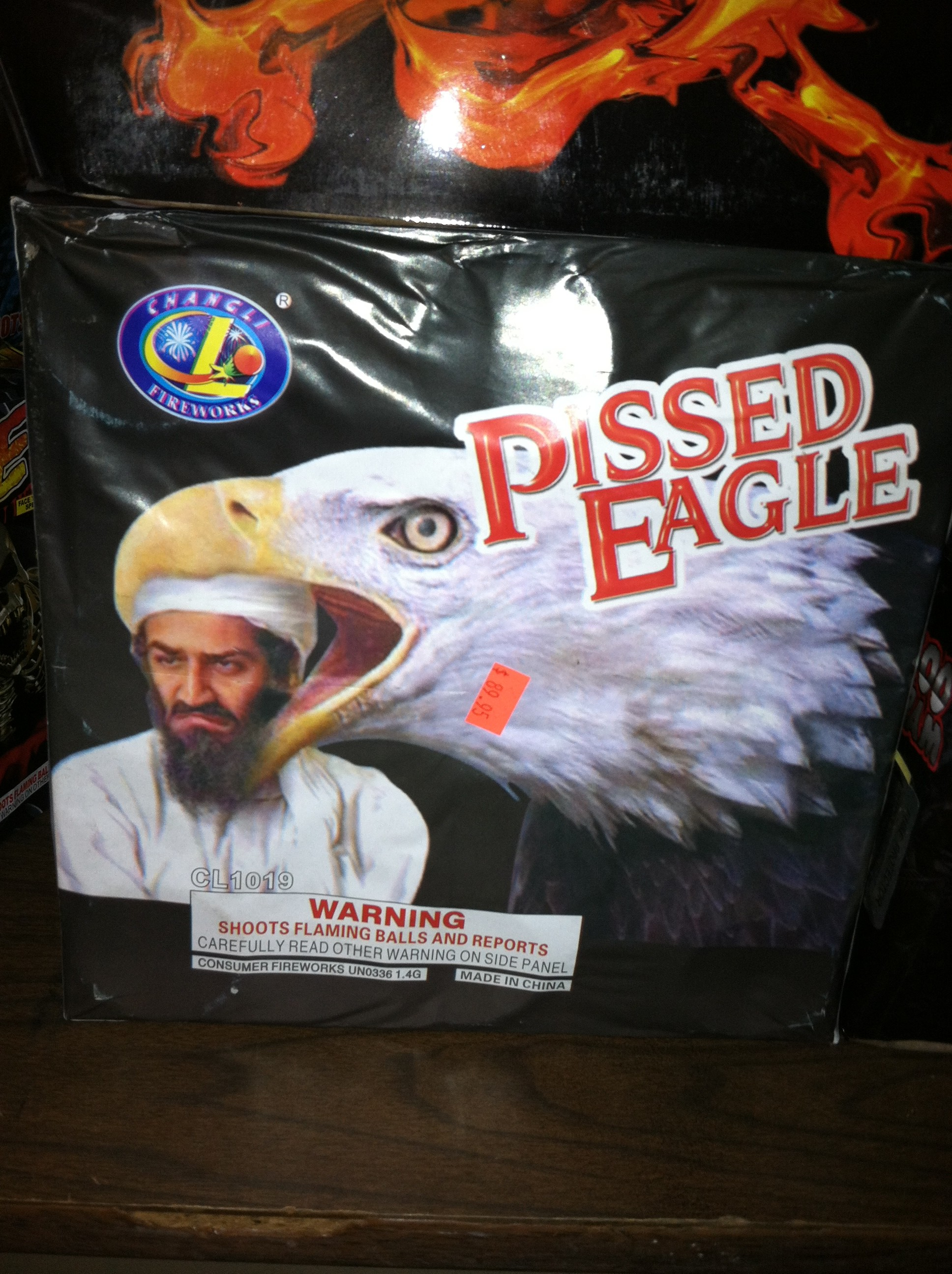 """The infamous Pissed Eagle."""