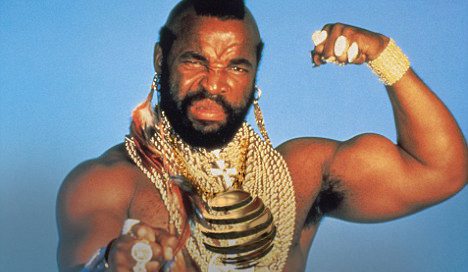 Quality: 2nd Generation. Programme Name: A TEAM  - Mr T as B.A Baracus For further information: please contact The UK Gold Press Office on 020 7299 5000