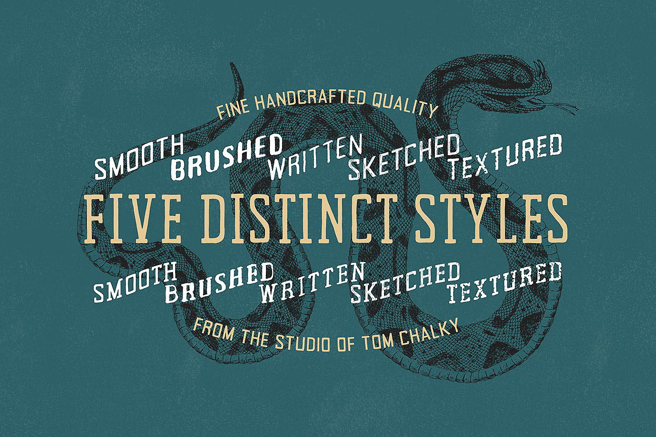 The Ultimate Handcrafted Fonts Collection