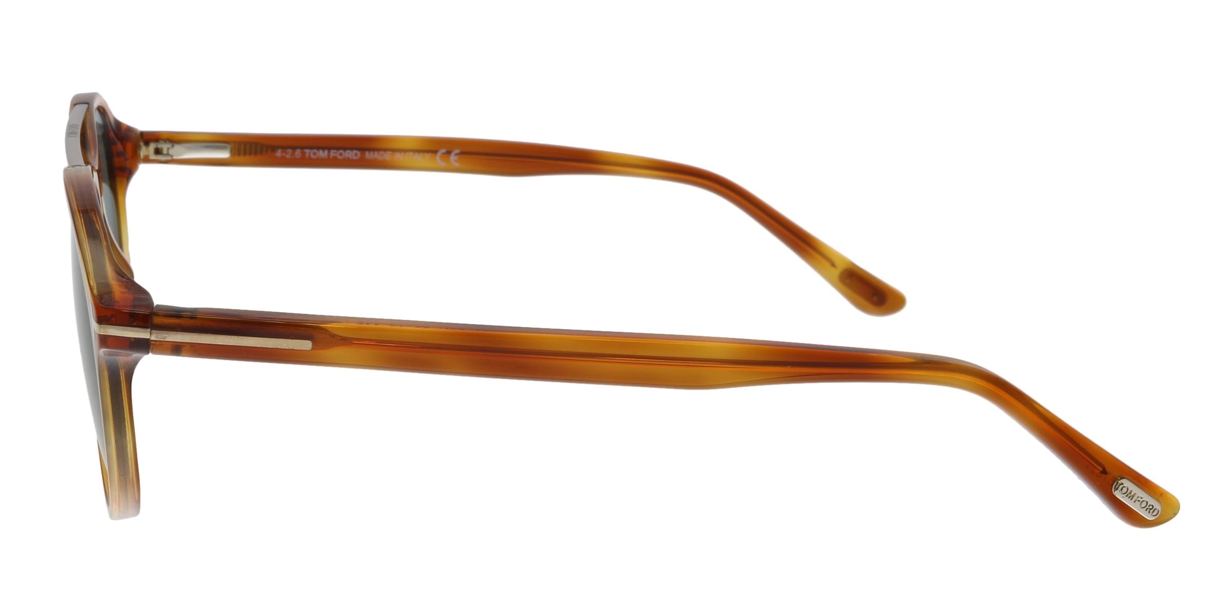 4bee8b1acb9dc Tom Ford FT0556 53N Cameron Blonde Havana Aviator Sunglasses ...
