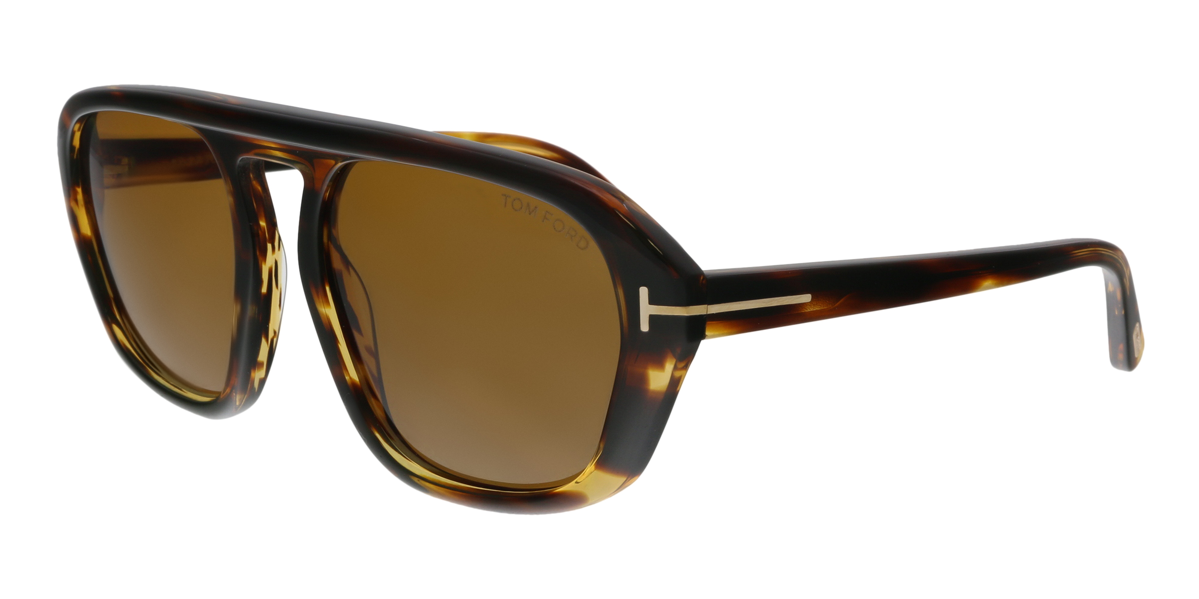 a2819d8be6ddc Tom Ford FT0634 52E David-02 Havana Square Sunglasses 664689926824 ...