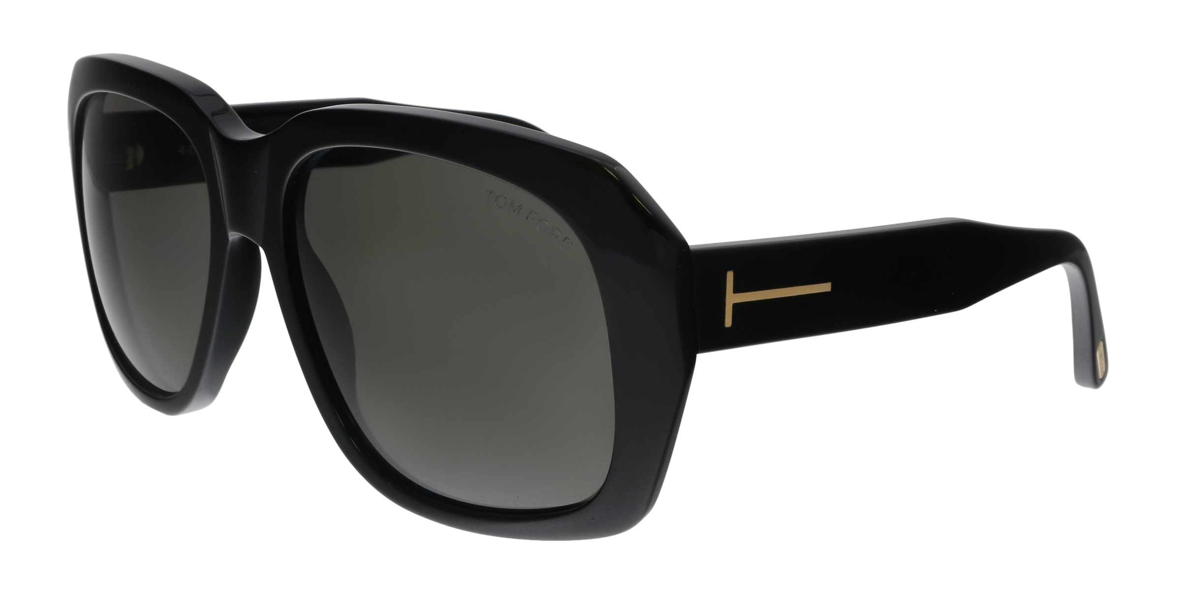 66a64df2bb Tom Ford FT0635 01A Andre-02 Black Square Sunglasses 664689926879