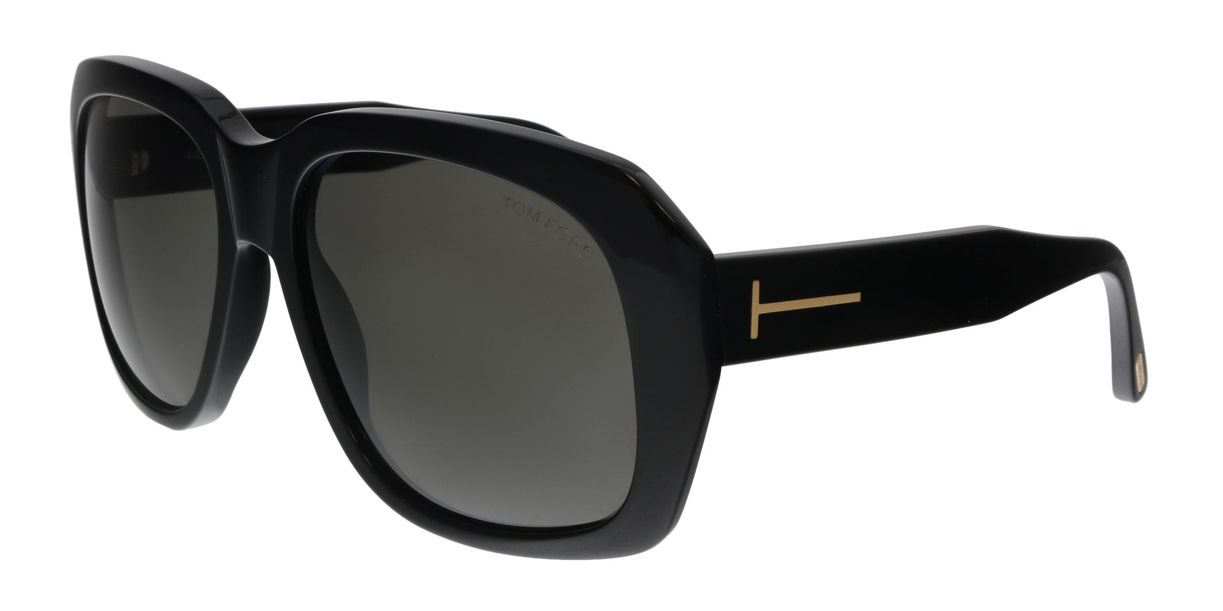 da9c694b935 Tom Ford FT0635 01A Andre-02 Black Square Sunglasses 664689926879