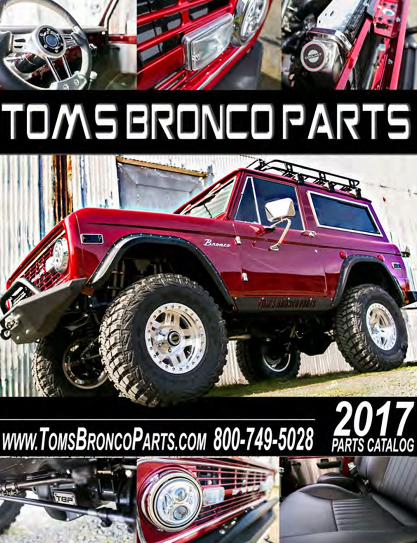 ... simply click on the listing for that item and you will be automatically  directed to that parts' corresponding location on our tomsbroncoparts.com!