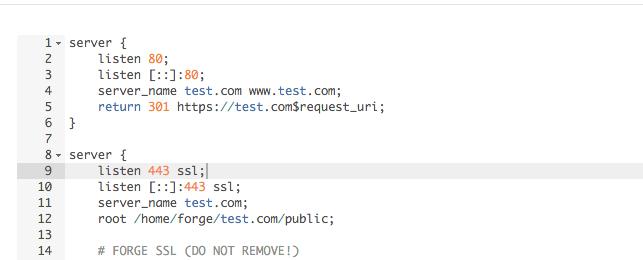 Enabling IPv6 on your Laravel Forge Webserver