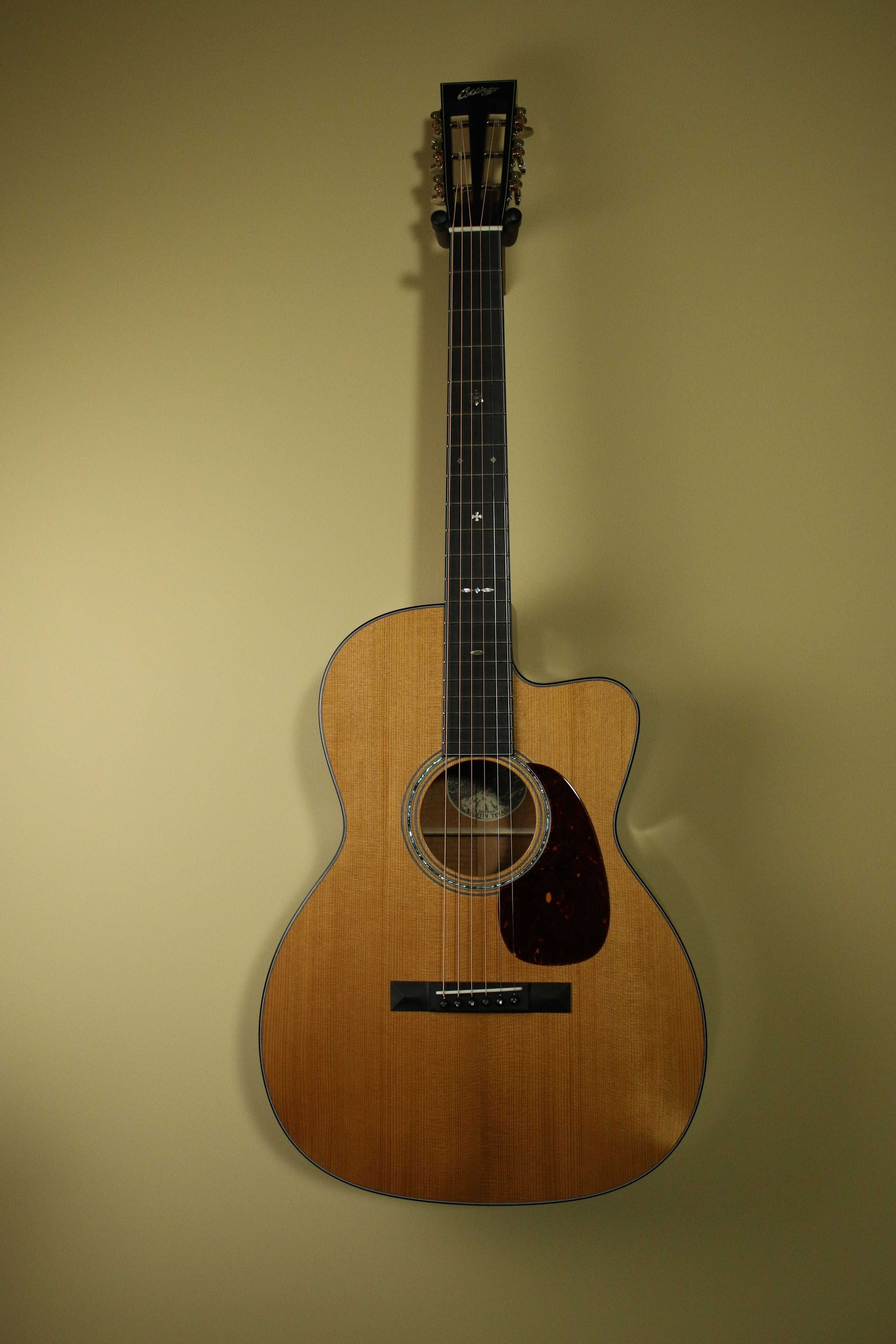 0001A Cutaway with 42 Style Rosette & Fret board Inlays